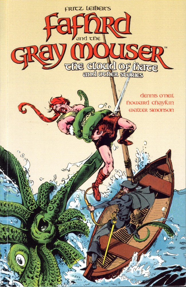 Couverture de Fafhrd and the Gray Mouser (2016)