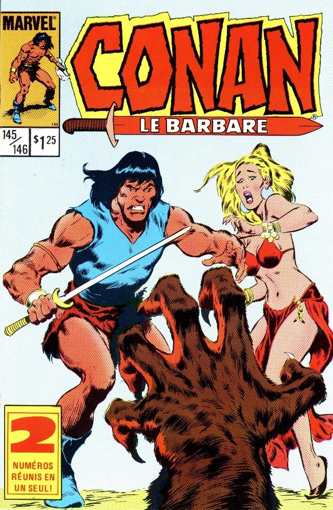 Couverture de Conan le barbare (Éditions Héritage) -145146- Le voile des ténèbres!