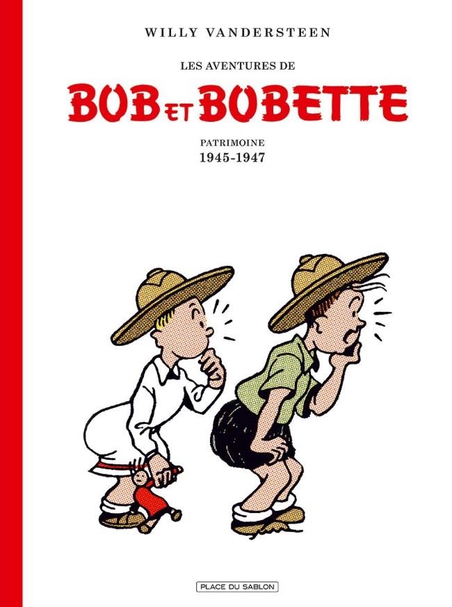 Couverture de Bob et Bobette (Les Aventures de) -1- Patrimoine 1945-1947