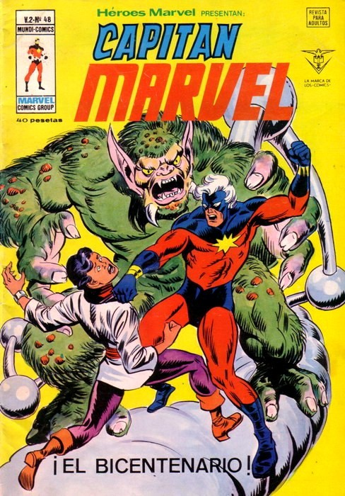 Couverture de Héroes Marvel (Vol.2) -48- ¡El bicentenario!