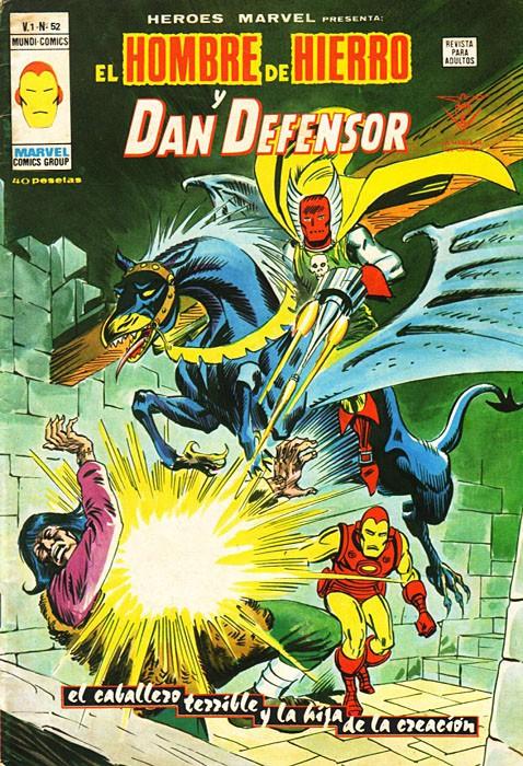 Couverture de Héroes Marvel (Vol.2) -52- El Caballero terrible y la Hija de la Creación