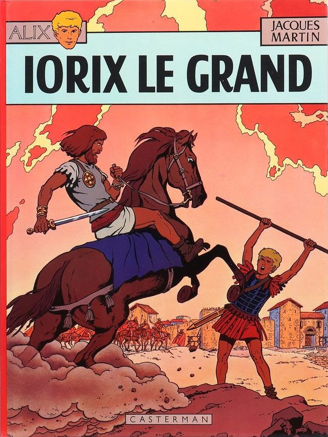 Couverture de Alix -10- Iorix le grand