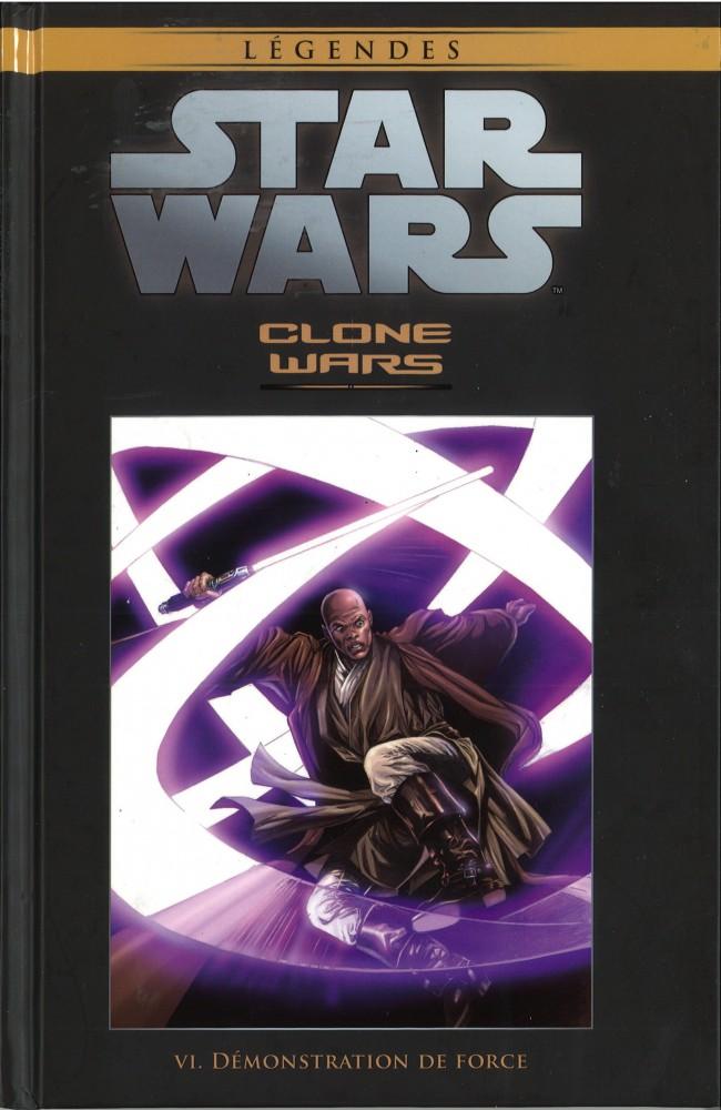 Couverture de Star Wars - Légendes - La Collection (Hachette) -2431- Clone Wars - VI. Démonstration de Force