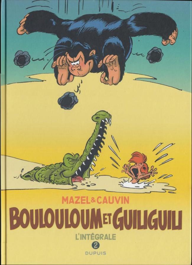 Couverture de Boulouloum et Guiliguili (Les jungles perdues) -INT2- L'intégrale 2