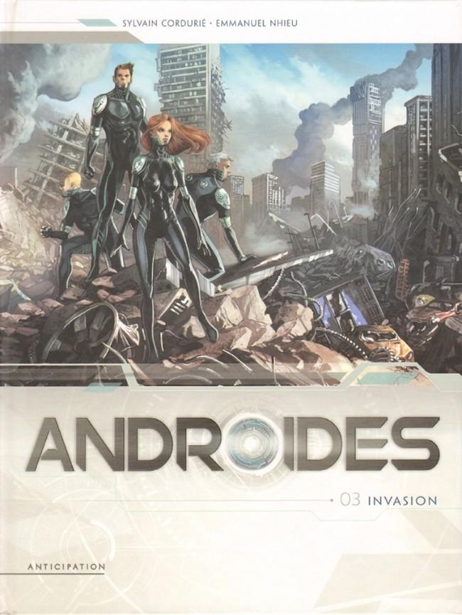 Couverture de Androïdes (Soleil) -3- Invasion