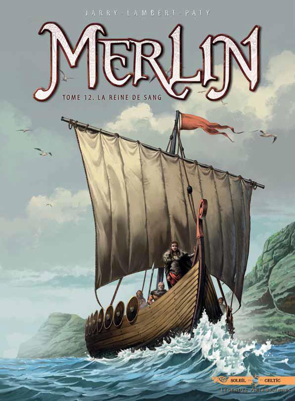 Couverture de Merlin (Nucléa/Soleil) -12- La reine de sang