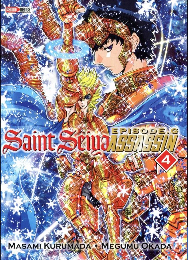 Couverture de Saint Seiya Épisode G - Assassin -4- Tome 4