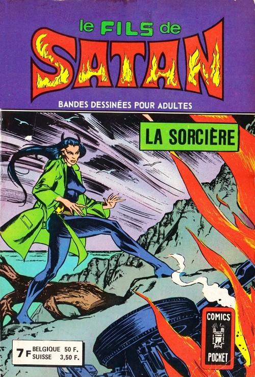 Couverture de Le fils de Satan -Rec05- Album N°3207 (n°9 et n°10)