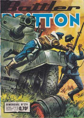Couverture de Battler Britton -274-