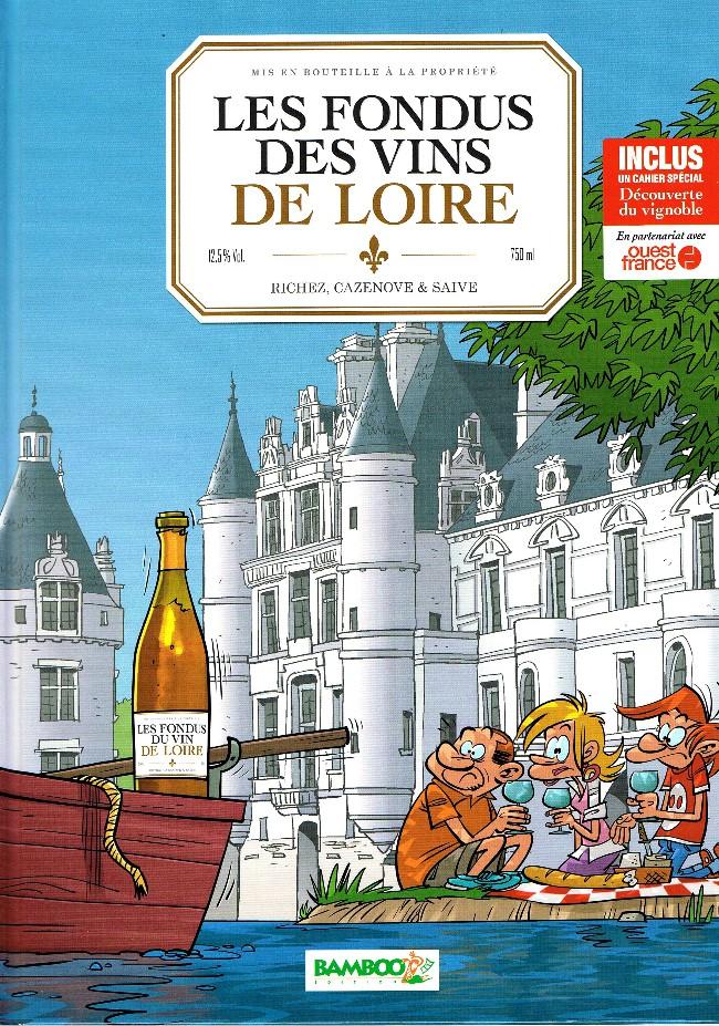 Couverture de Les fondus du vin -7- Loire