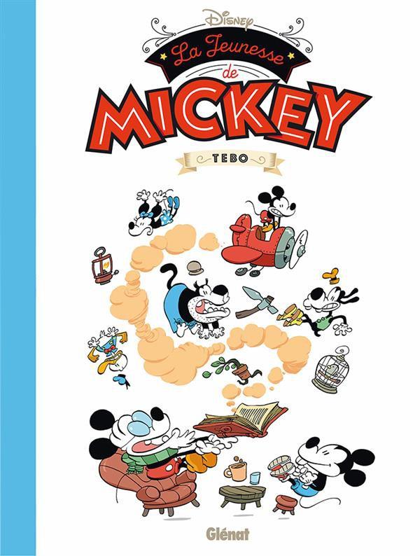 Couverture de Mickey (collection Disney / Glénat) - La Jeunesse de Mickey