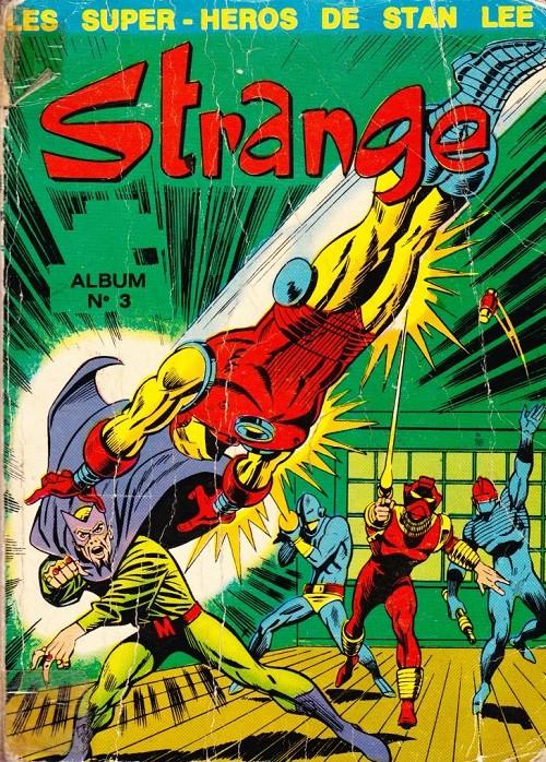 Couverture de Strange -Rec003- Album N°3 (du n°8 au n°10)