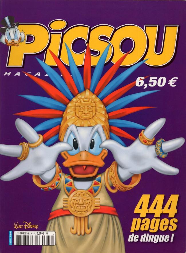 Couverture de Picsou Magazine -Rec61- (2e série) recueil n°61 (n°451-453-454)