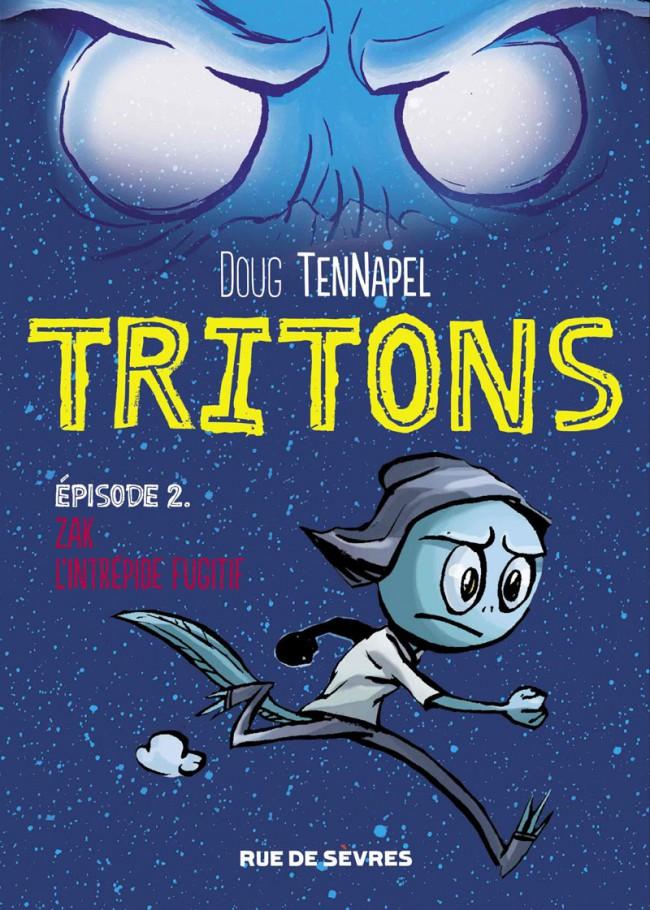 Couverture de Tritons -2- Tome 2