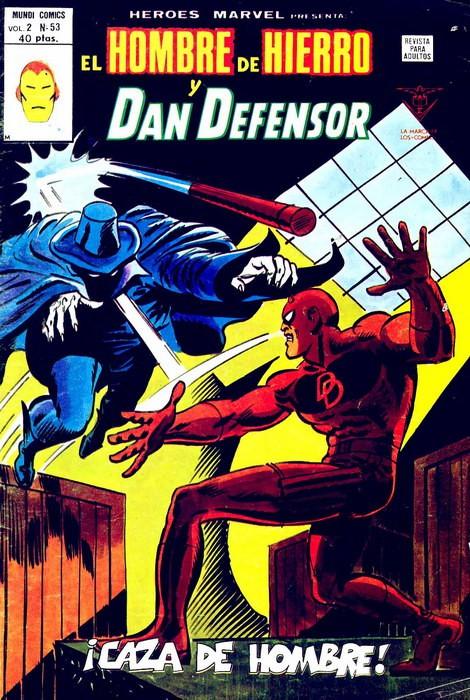 Couverture de Héroes Marvel (Vol.2) -53- ¡Caza de hombre!