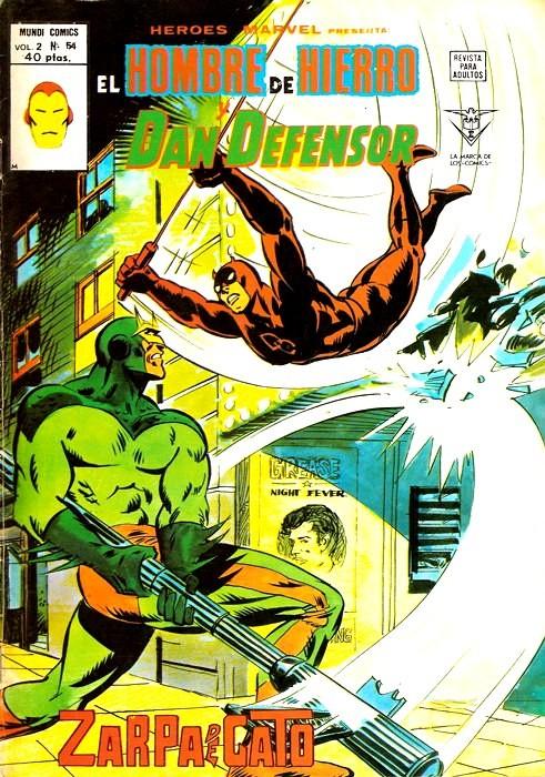 Couverture de Héroes Marvel (Vol.2) -54- Zarpa de Gato
