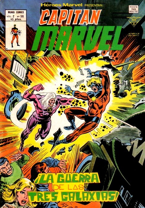 Couverture de Héroes Marvel (Vol.2) -56- ¡La guerra de las tres galaxias!