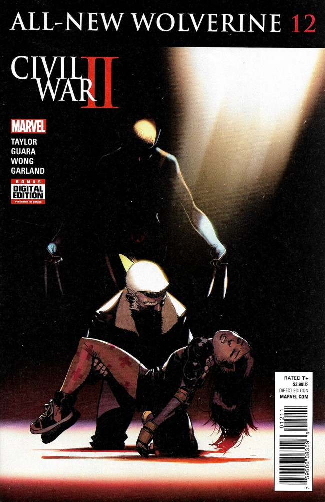 Couverture de All-New Wolverine (2016) -12- Issue 12