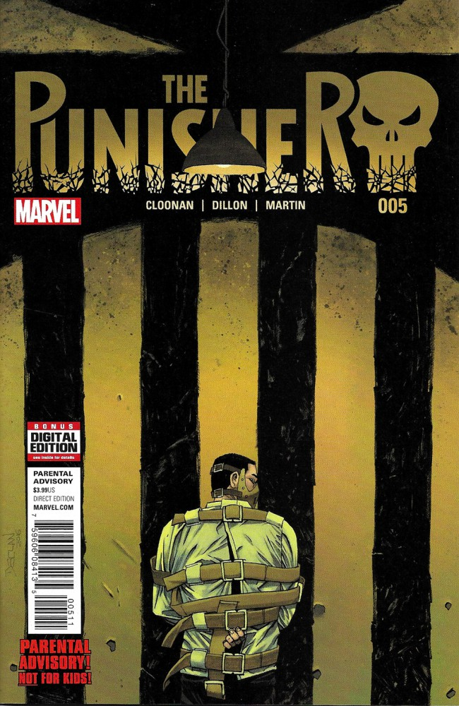 Couverture de Punisher (2016) (The) -5- Issue 5