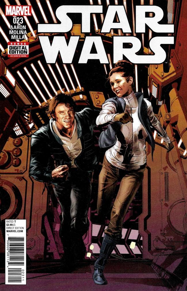 Couverture de Star Wars Vol.2 (Marvel comics - 2015) -23- Book V, Part III : The Last Flight Of The Harbinger