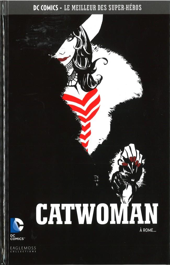 Couverture de DC Comics - Le Meilleur des Super-Héros -30- Catwoman - À Rome...