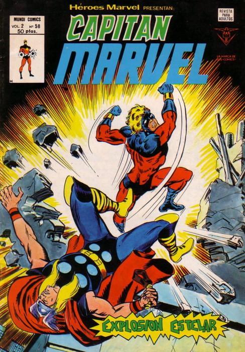 Couverture de Héroes Marvel (Vol.2) -58- Explosión estelar
