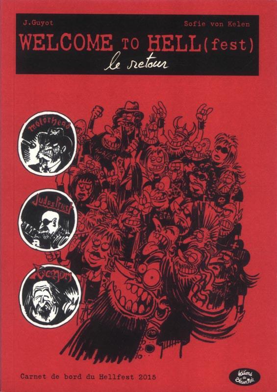Couverture de Welcome to Hell (fest) -2- Le retour
