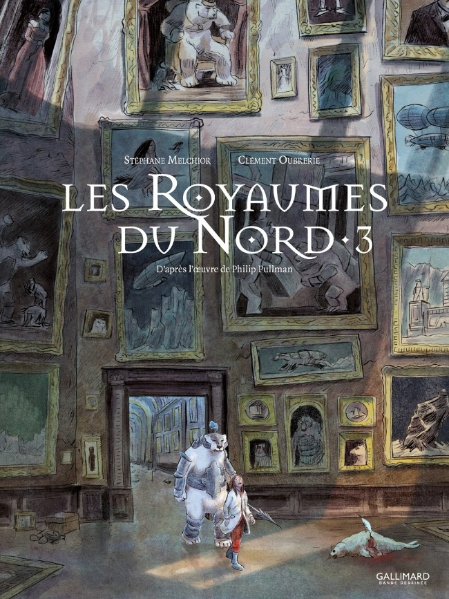 Couverture de À la croisée des mondes -3- Les Royaumes du Nord - 3