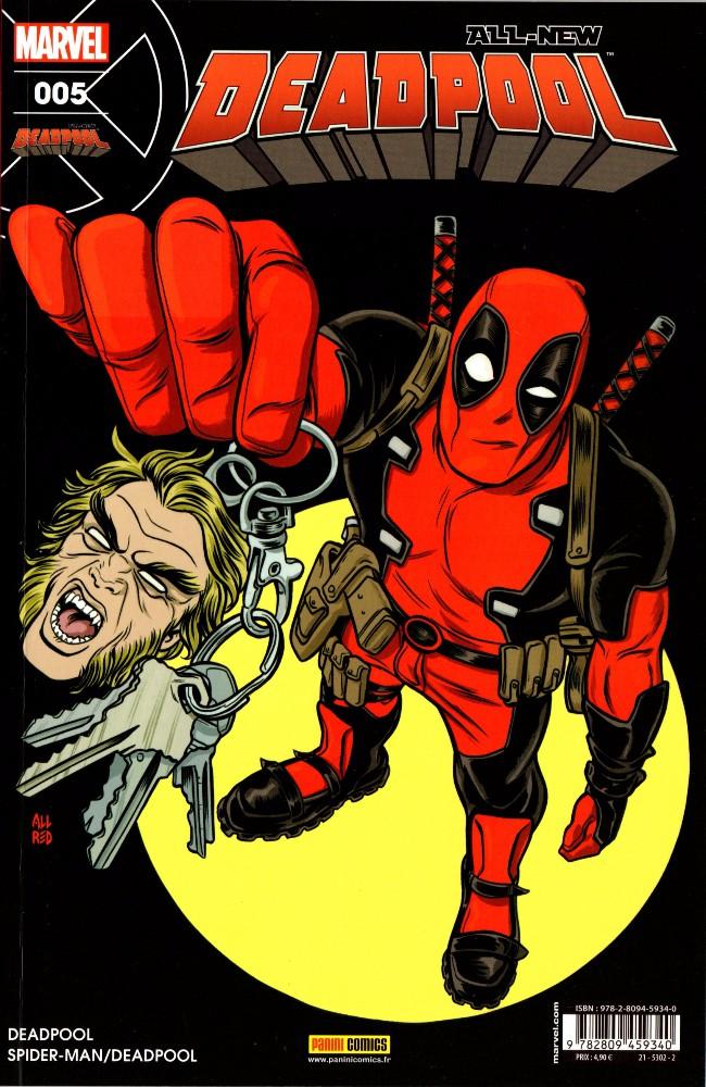Couverture de All-New Deadpool -5- Fahrenheit .357