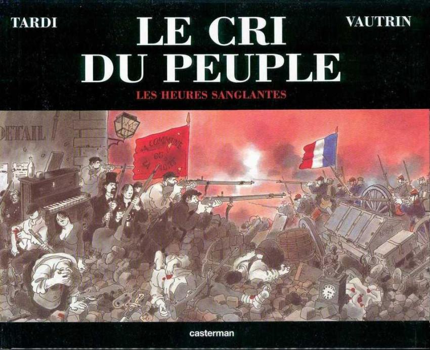 Couverture de Le cri du peuple -3- Les heures sanglantes