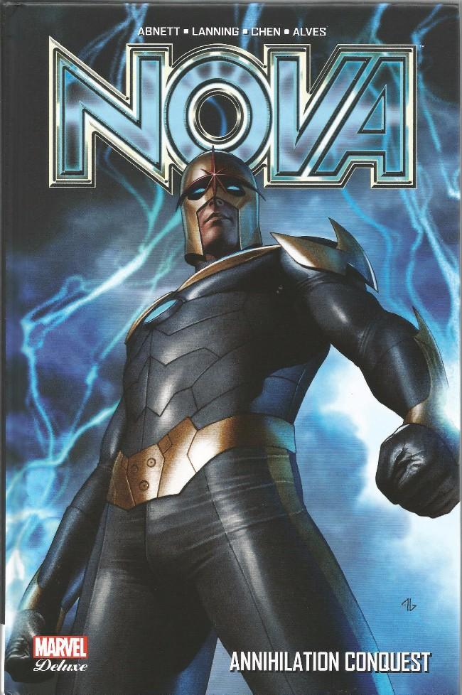 Couverture de Nova (Marvel Deluxe) -1- Annihilation Conquest