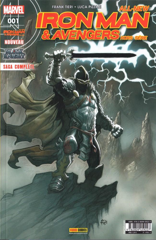 Couverture de All-New Iron Man & Avengers -HS01- Le Chevalier obscur