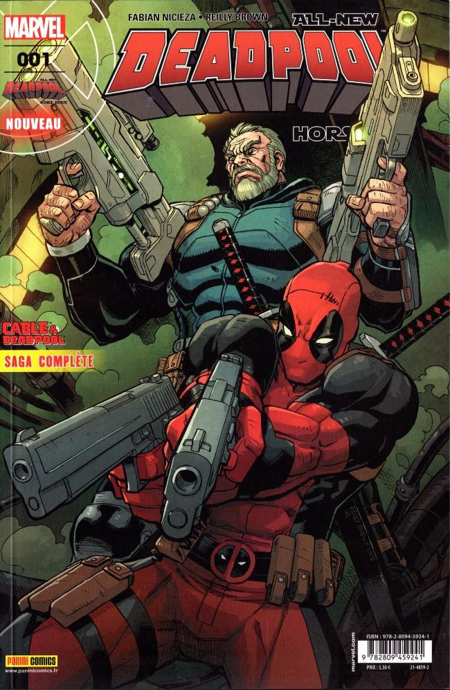 Couverture de All-New Deadpool -HS01- Fraction de seconde