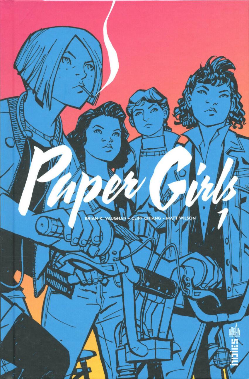 Couverture de Paper Girls -1- Tome 1