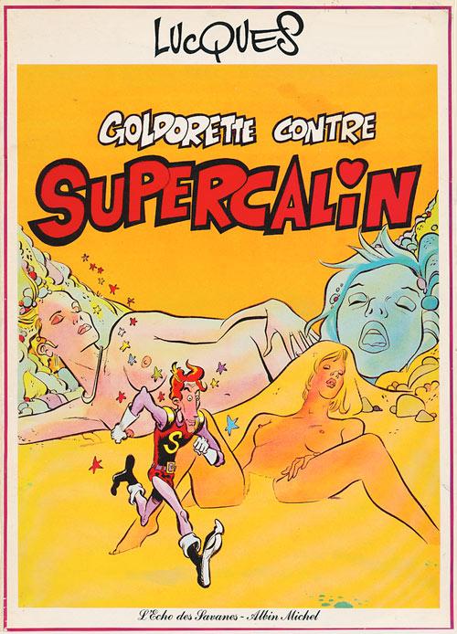 Couverture de Goldorette -2- Goldorette contre Supercalin