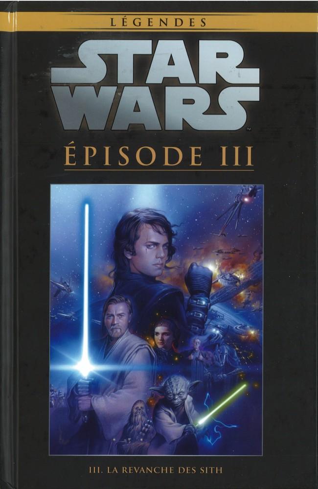 Couverture de Star Wars - Légendes - La Collection (Hachette) -2542- Episode III - La Revanche des Sith