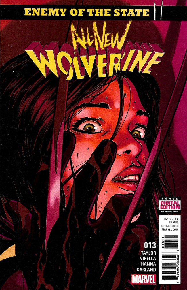 Couverture de All-New Wolverine (2016) -13- Enemy Of The State II