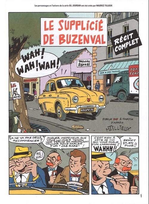 Couverture de Gil Jourdan -HS02- Le supplicié de Buzenval