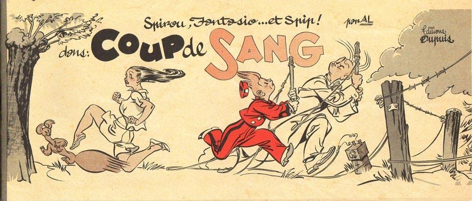 Couverture de Spirou et Fantasio -2- (Divers) -MR4094- Coup de sang