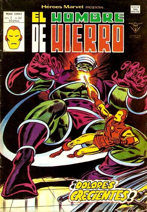 Couverture de Héroes Marvel (Vol.2) -62- iDolores crecientes!