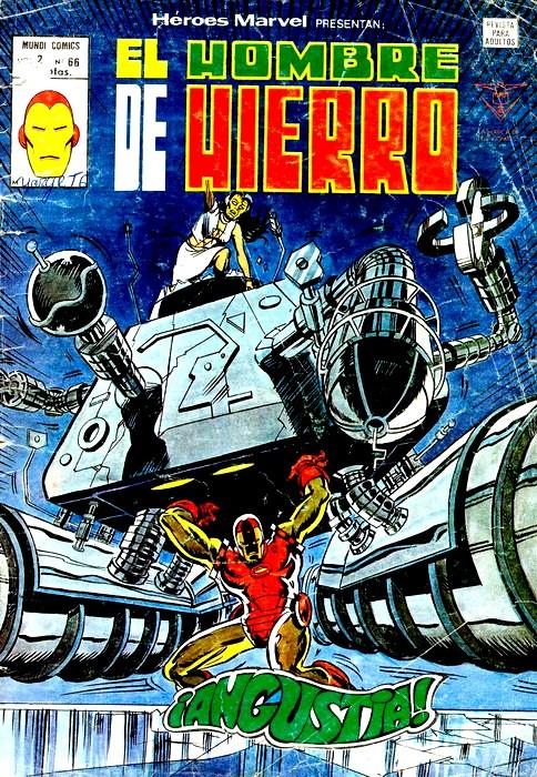 Couverture de Héroes Marvel (Vol.2) -66- ¡Angustia!