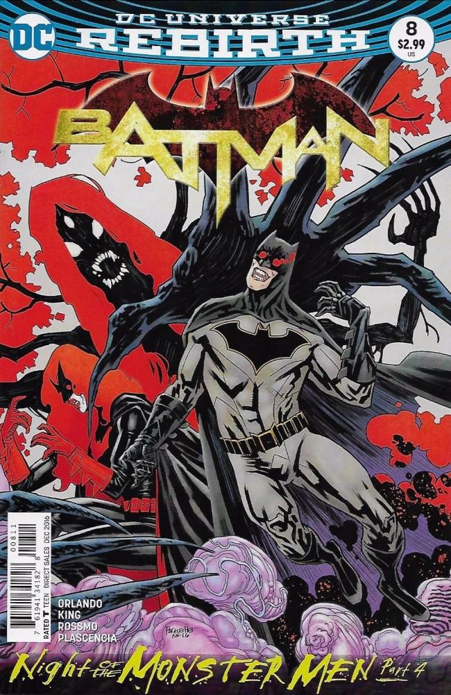 Couverture de Batman (2016) -8- Night of the Monster Men, Part Four