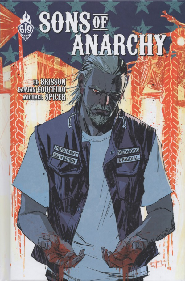 Couverture de Sons of Anarchy -3- Tome 3