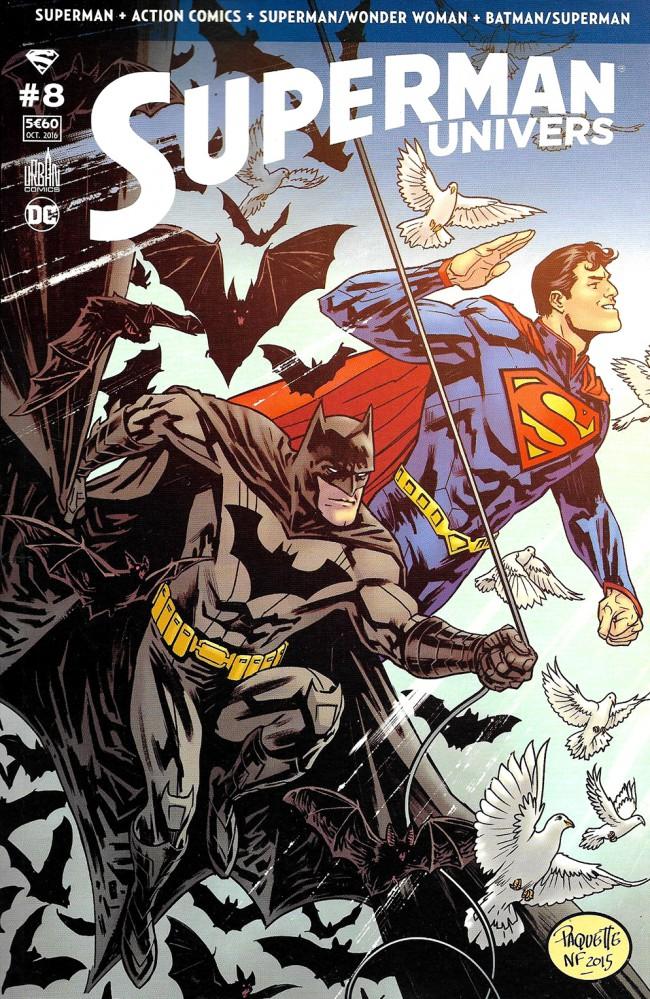 Couverture de Superman Univers -8- Numéro 8