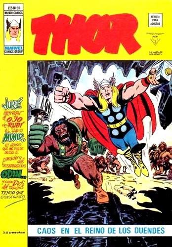 Couverture de Thor (Vol.2) -30- Caos en el reino de los duendes