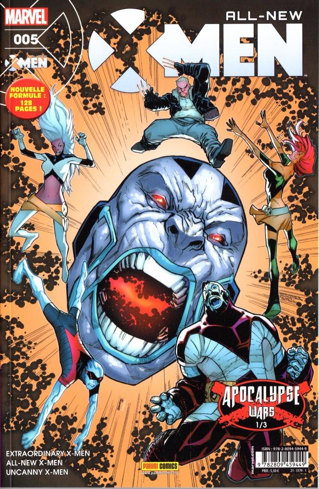 Couverture de All-New X-Men (Marvel France 1re série - 2016) -5- Les Guerres d'Apocalypse (1/3)
