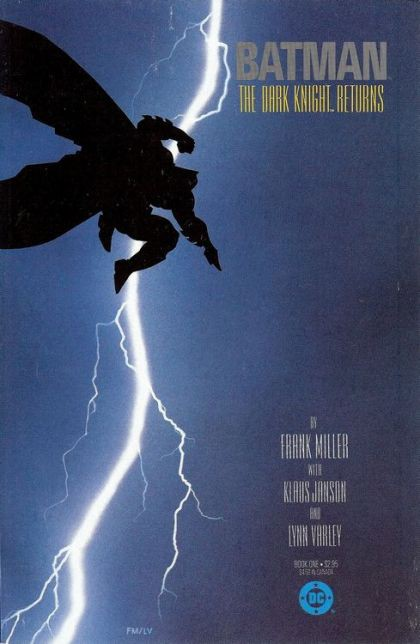 Couverture de Batman: The Dark Knight (1986) -1- The Dark Knight Returns