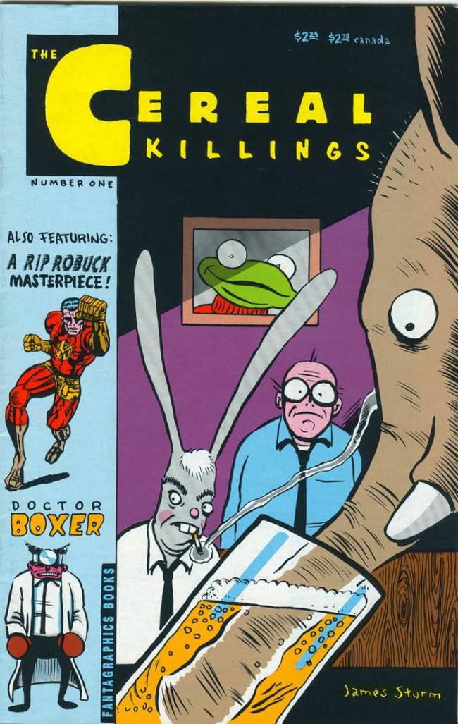 Couverture de The cereal Killings -1- Ingredients