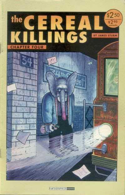 Couverture de The cereal Killings -4- Visitors