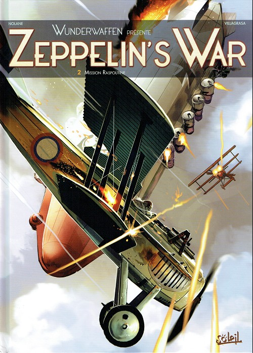 Couverture de Zeppelin's War -2- Mission Raspoutine